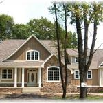 """The Lorraine"" at Autumn Ridge ~ Beautiful 1.5 story French Country-style home on 1 acre wooded lot"
