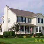 Colonial full two-story home on a daylight basement in Chesterton, IN