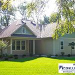Quaint and uniquely built home on Oakwood Drive in DeMotte, IN